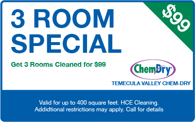 Get 3 Rooms Cleaned for $99 coupon