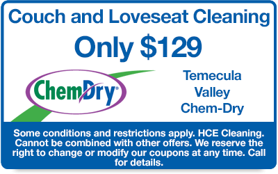 Couch and Loveseat Cleaning only $129